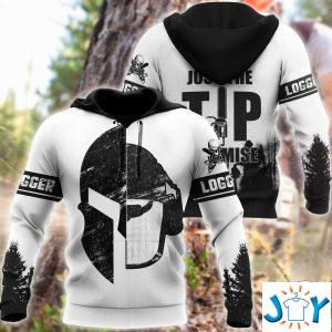 logger viking just the tip i promise d hoodie