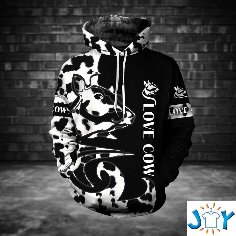 Love Cow 3D hoodie
