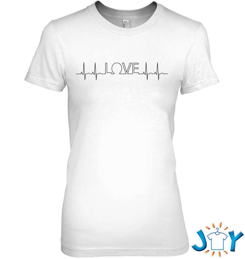 Love Signal Heart Palpitations Ekg Monitor T-Shirt