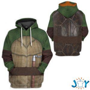 michelangelo teenage mutant ninja turtles custom d hoodie