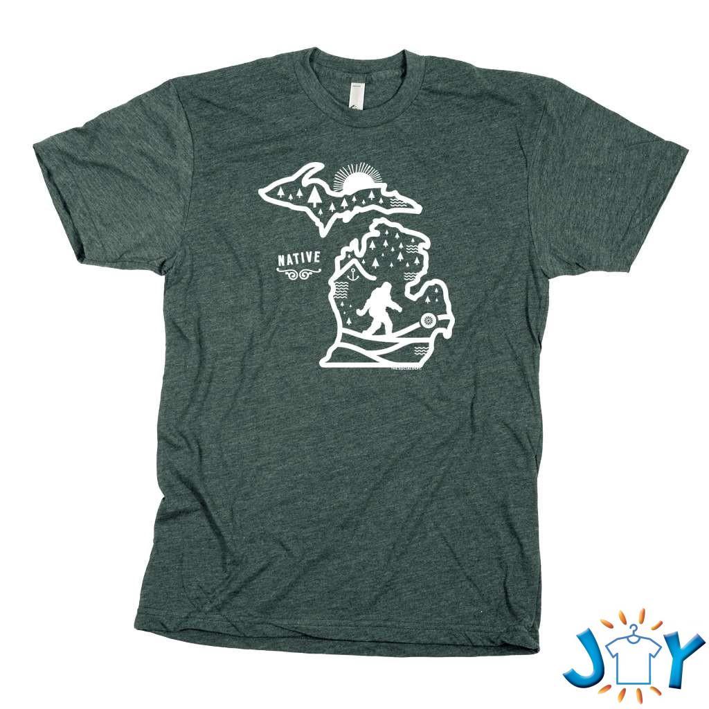 Michigan Native Forest Unisex T-Shirt