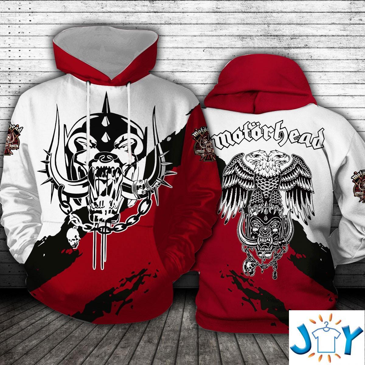 Motorhead Logo 3D hoodie
