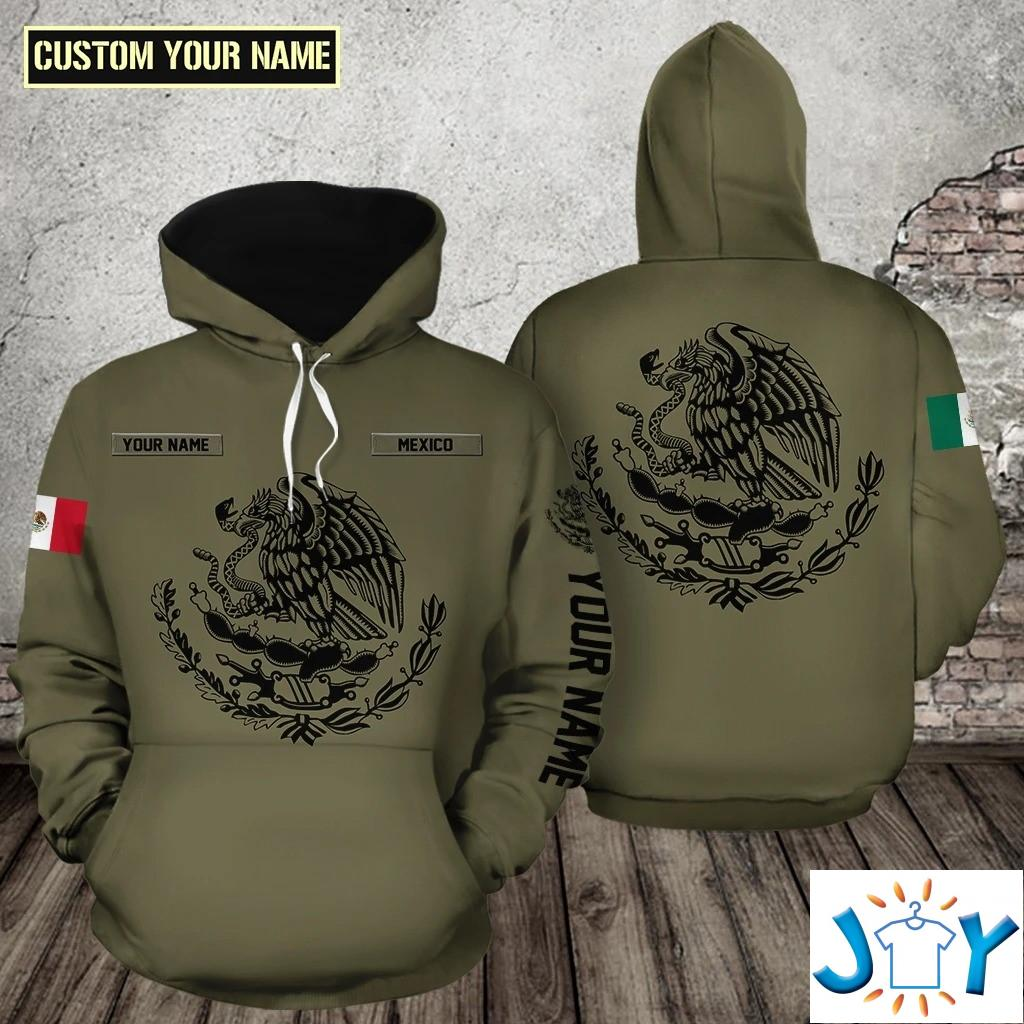 National symbols of Mexico 3D All Over Print Hoodie