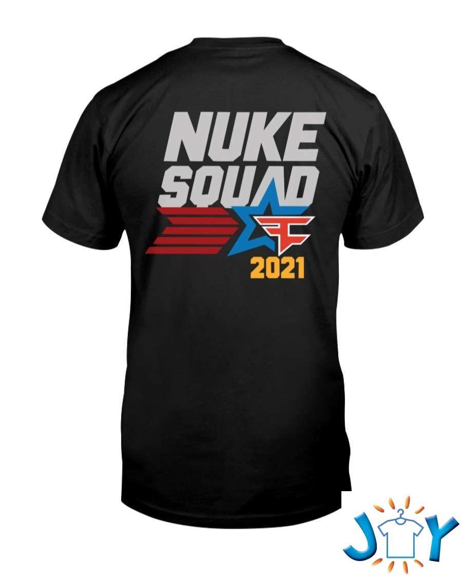 Nuke Squad Merch Hooded Sweatshirt Classic T-Shirt