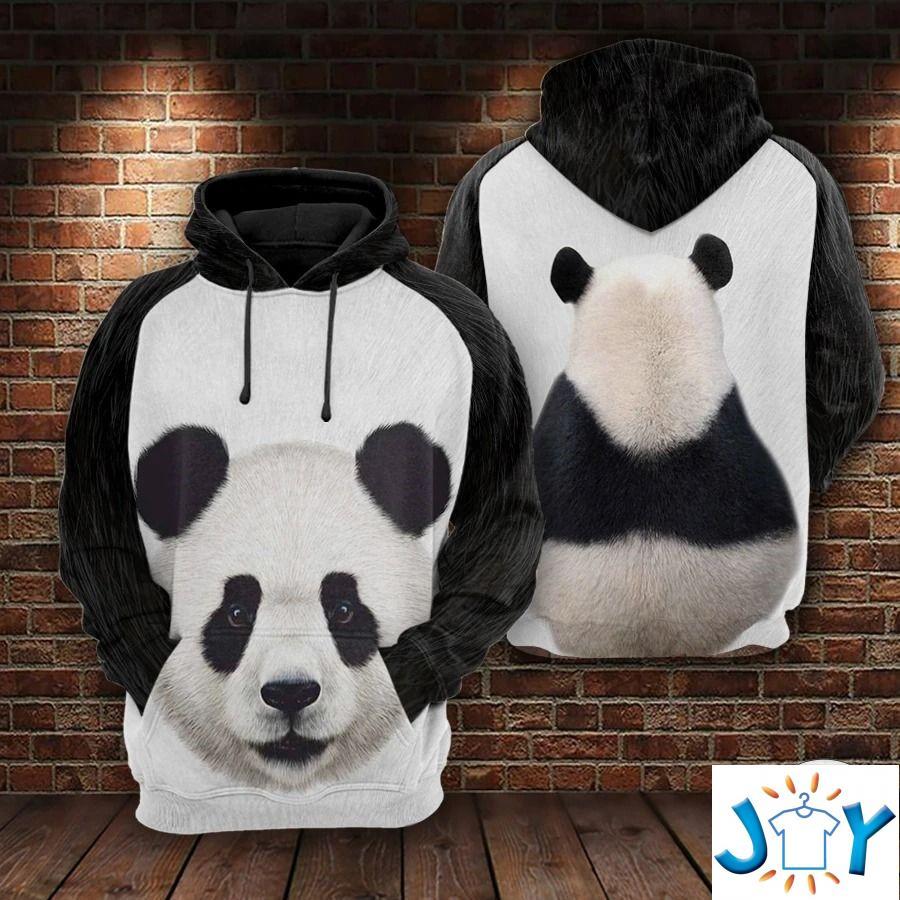 Panda 3D All Over Print Hoodie