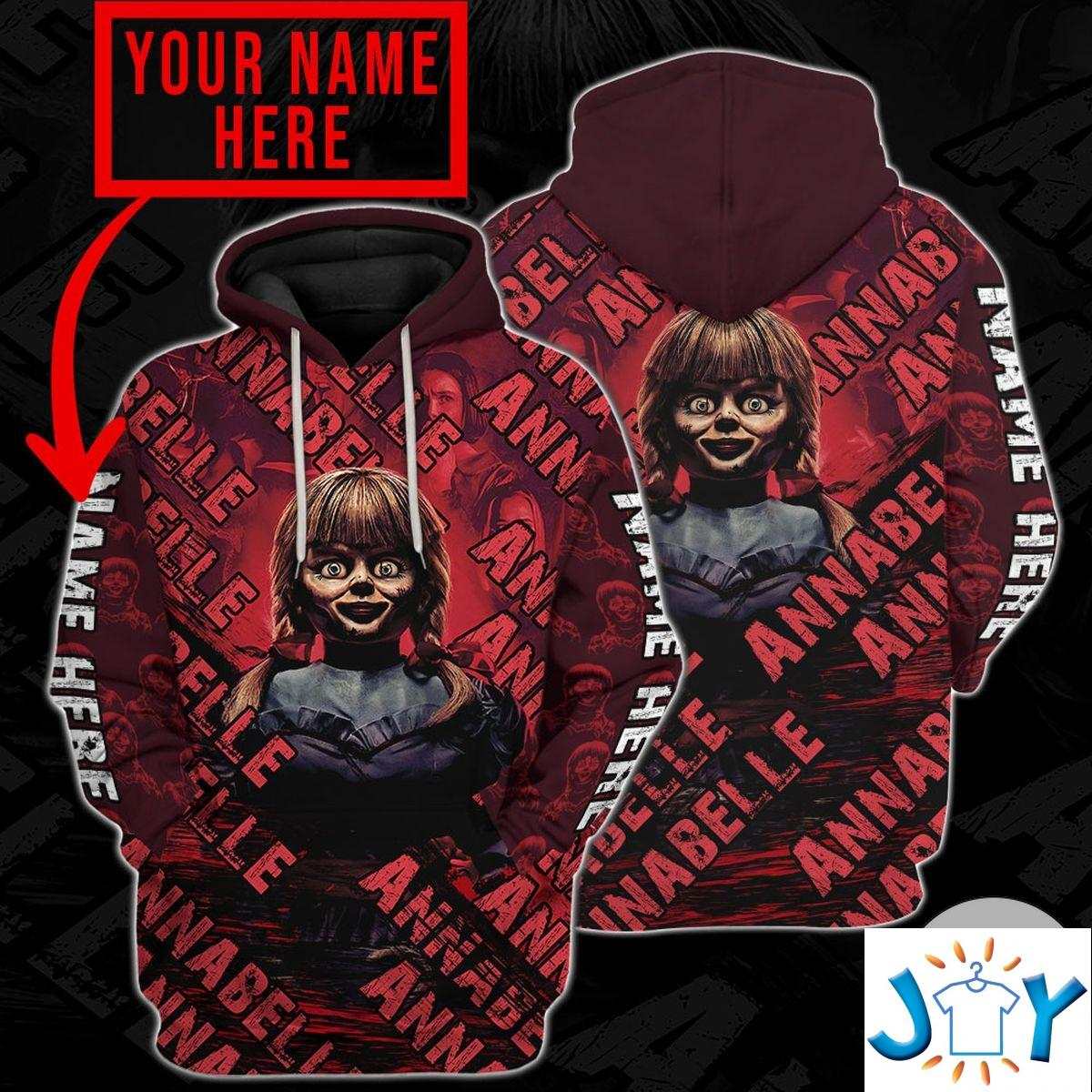 Personalized Annabelle Hoodie