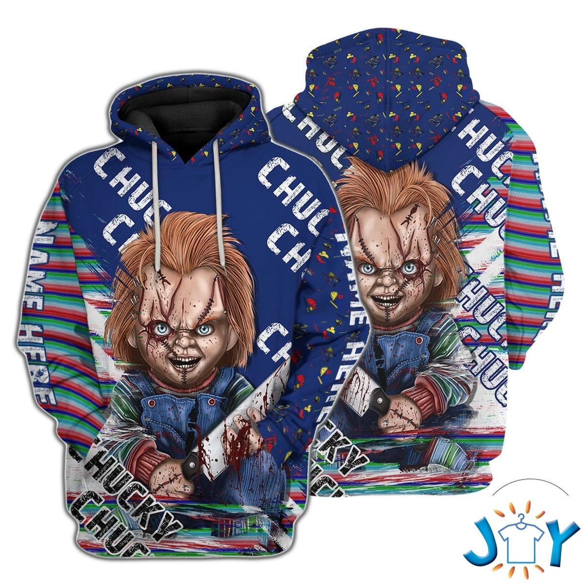 Personalized Child's Play Chucky Hoodie