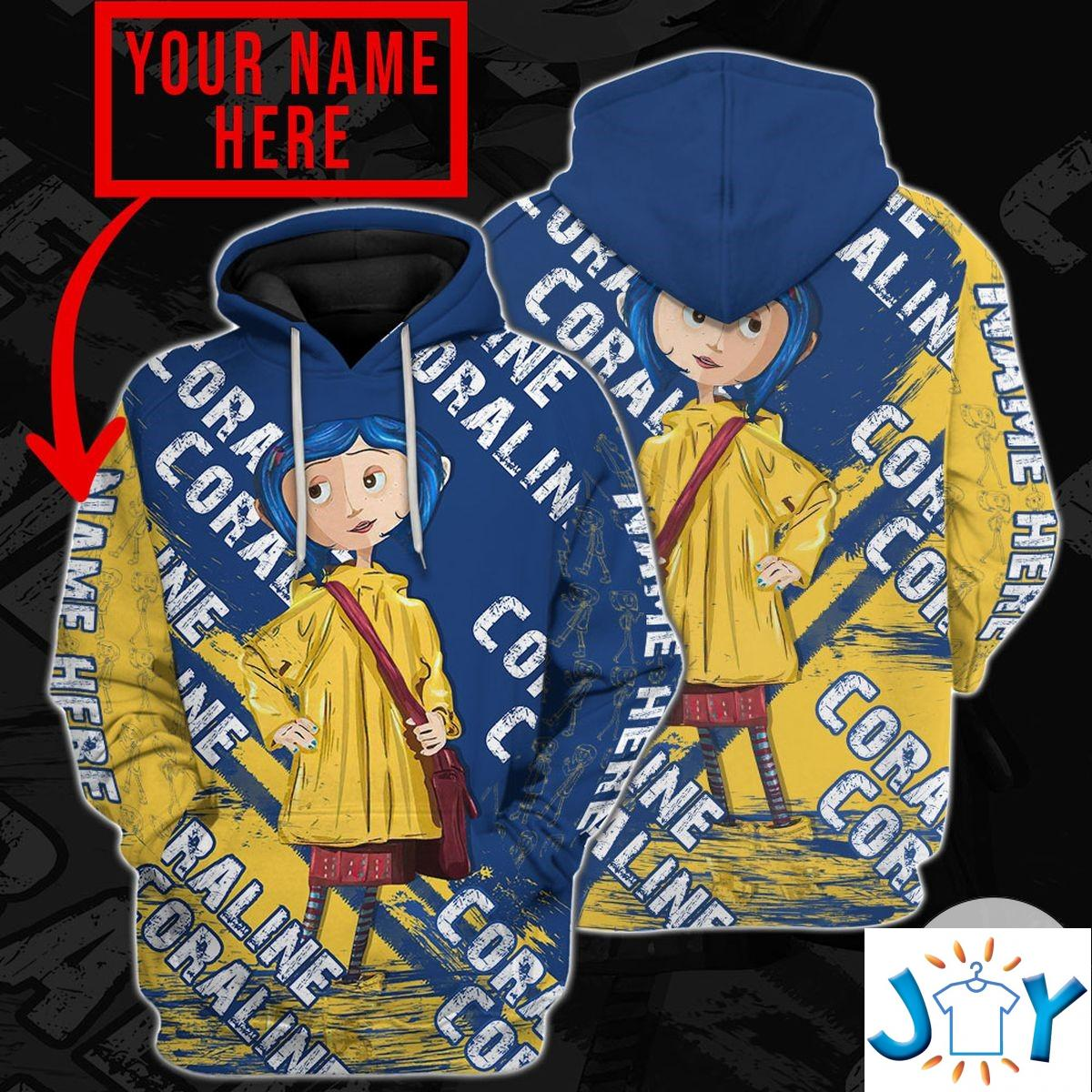 Personalized Coraline Hoodie
