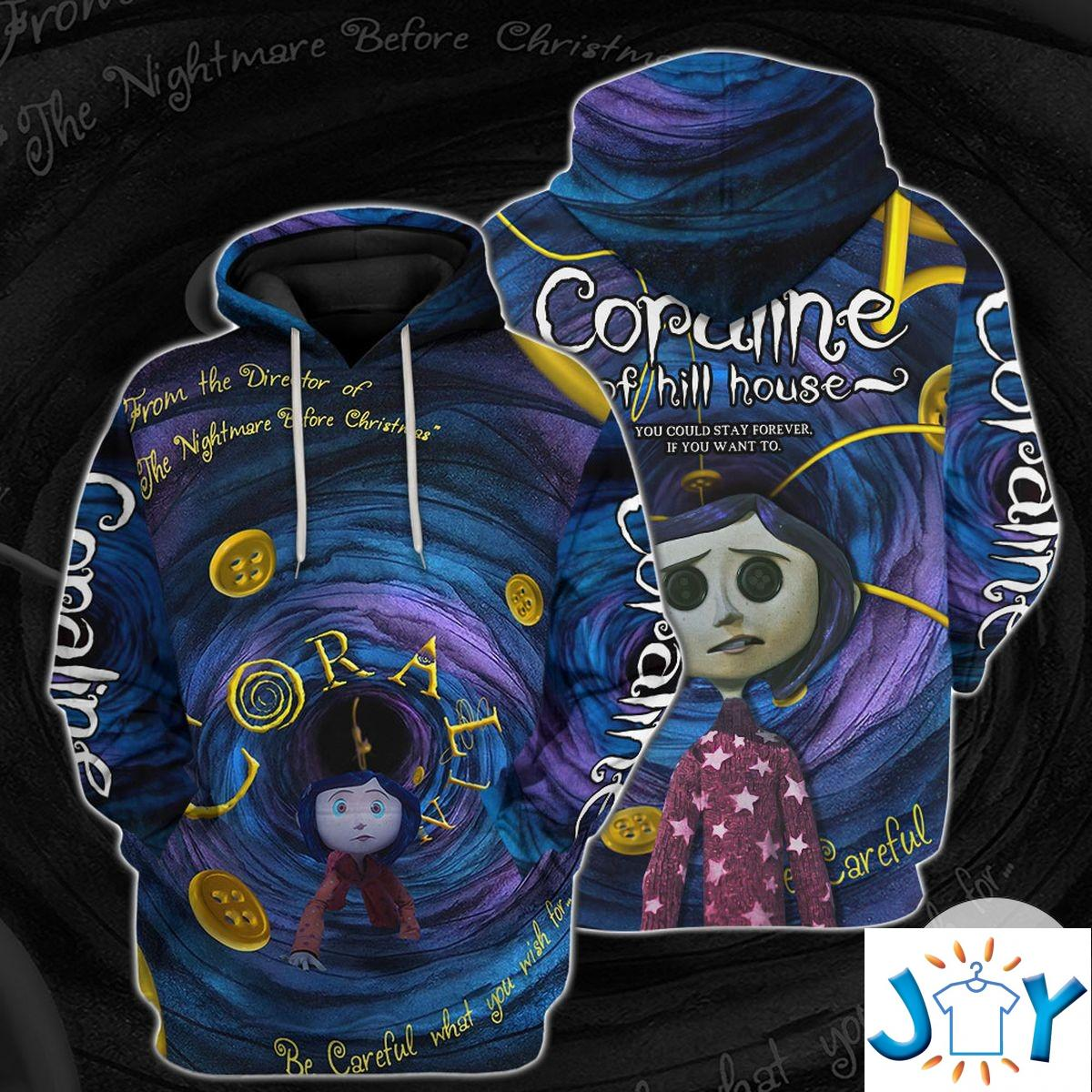Personalized Coraline Of Hill House Hoodie