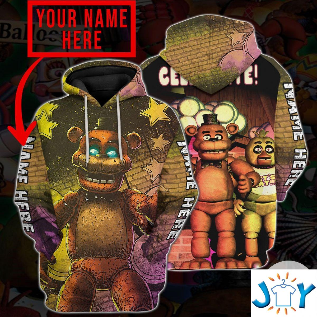 Personalized Five Nights At Freddy's Hoodie