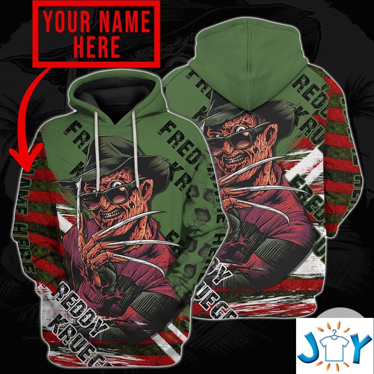 Personalized Freddy Krueger A Nightmare On Elm Street Hoodie