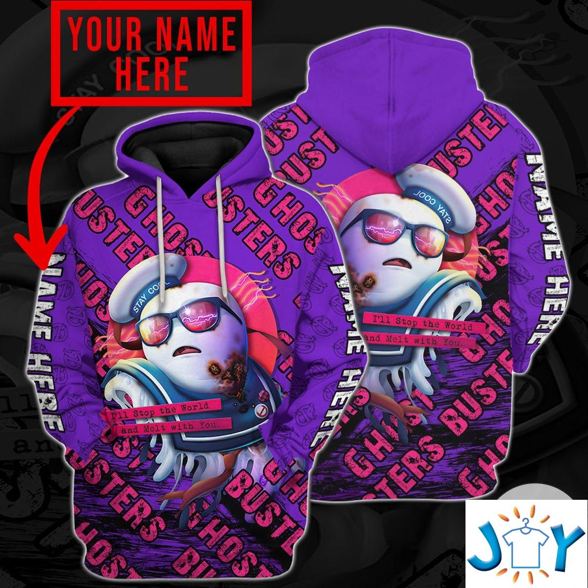 Personalized Ghostbusters Sailor Hoodie