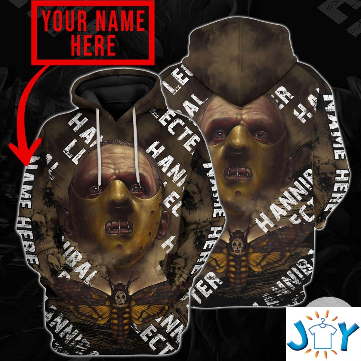 Personalized Hannibal Lecter Hoodie