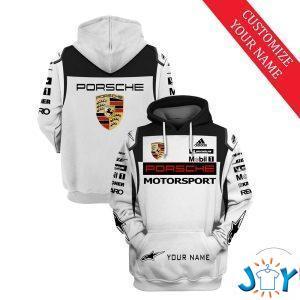personalized porsche motorsport d hoodie