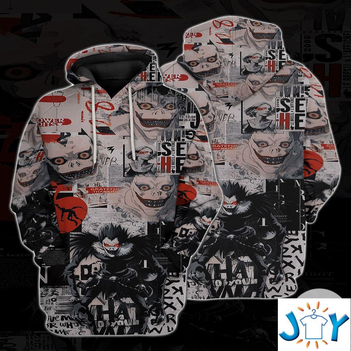 Personalized Ryuk Death Note Hoodie