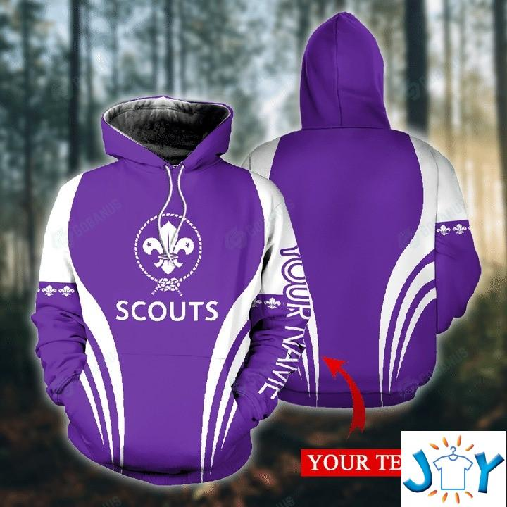 Personalized Scouts 3D Hoodies