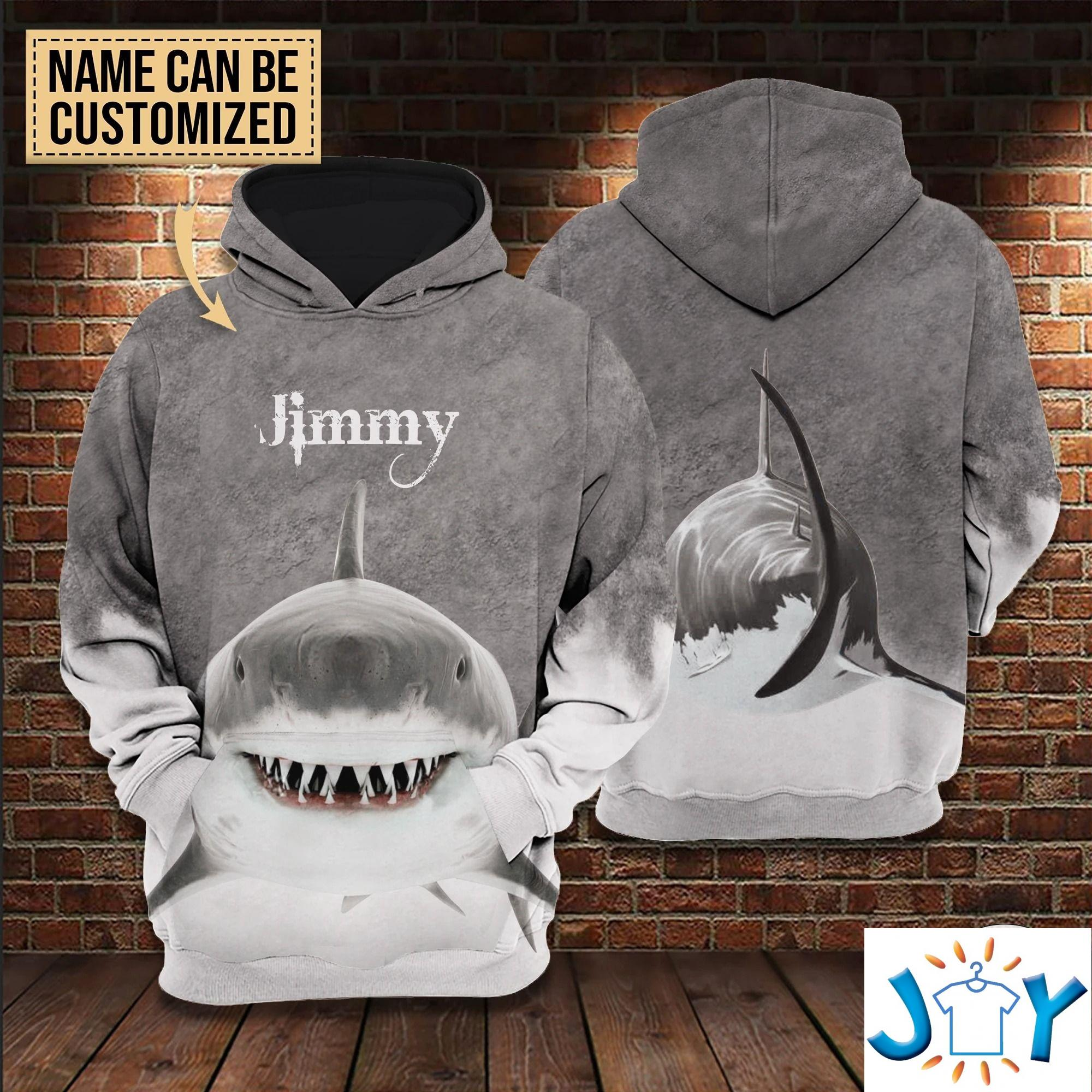 Personalized Shark 3D All Over Print Hoodies