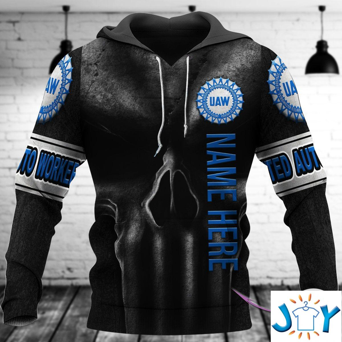 Personalized Skull Uaw 3D Hoodies