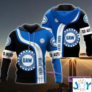 personalized uaw d all over print hoodies