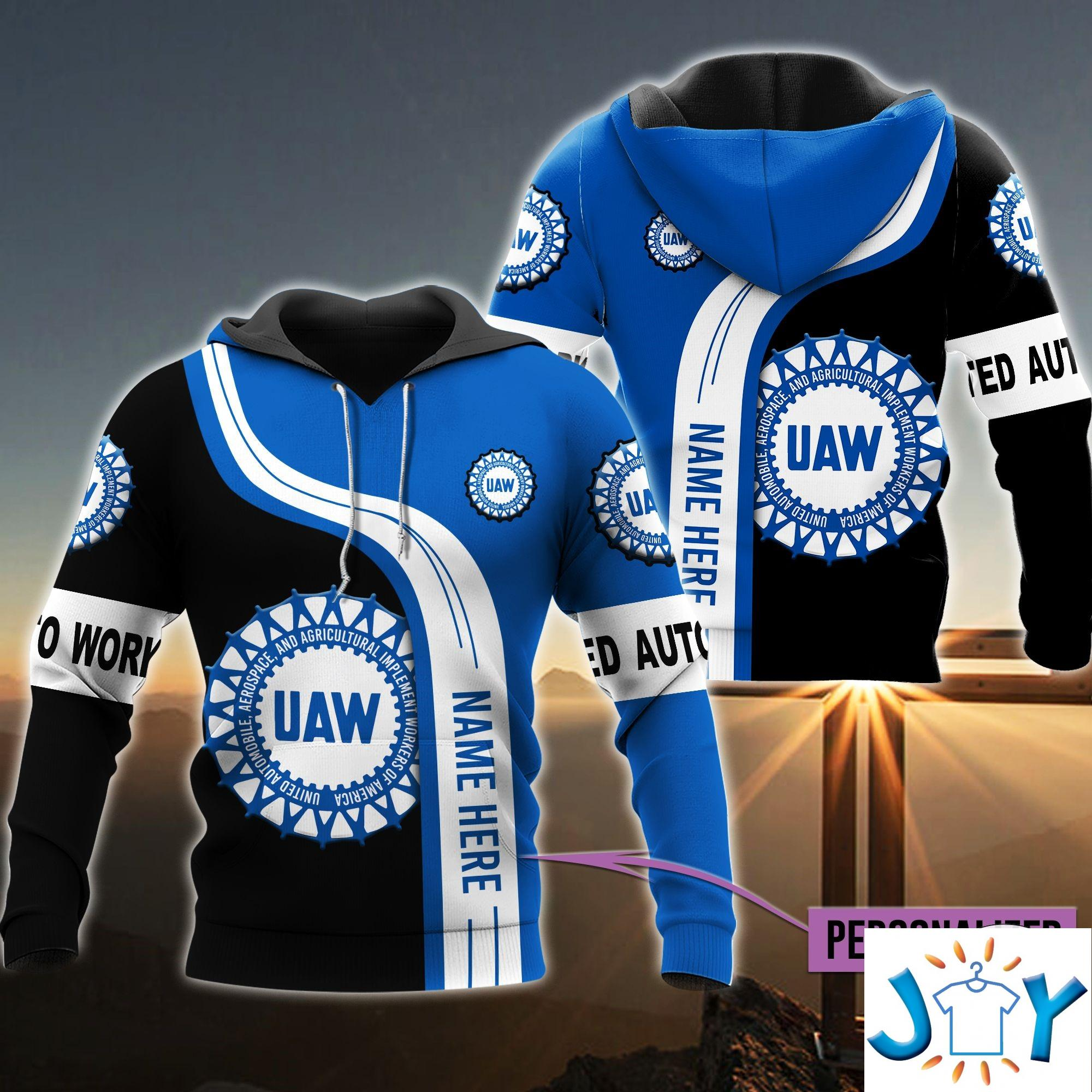 Personalized Uaw 3D All Over Print Hoodies