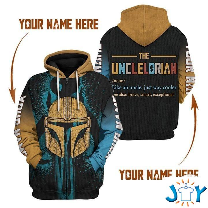 Personalized Unclelorian Like An Uncle Just Way Cooler 3D Hoodie