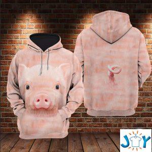 pig d all over print hoodie
