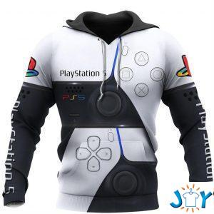 playstation ps d full over print hoodie