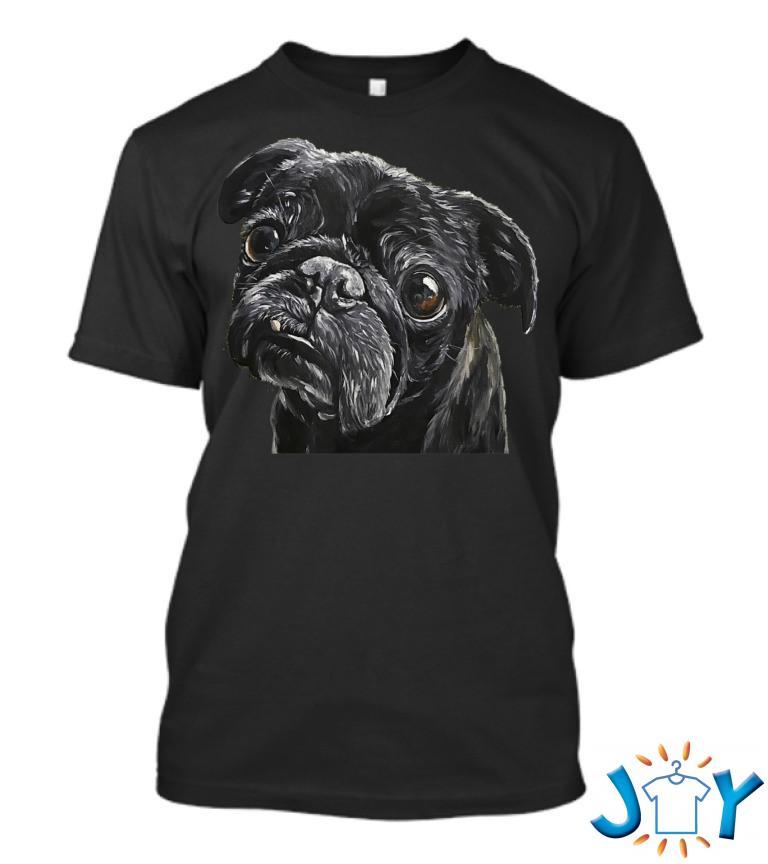 Pug Black Pug T Shirt