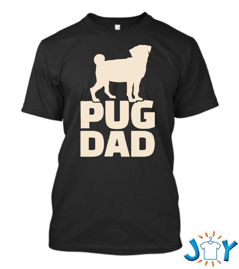 Pug Dad Funny T Shirt