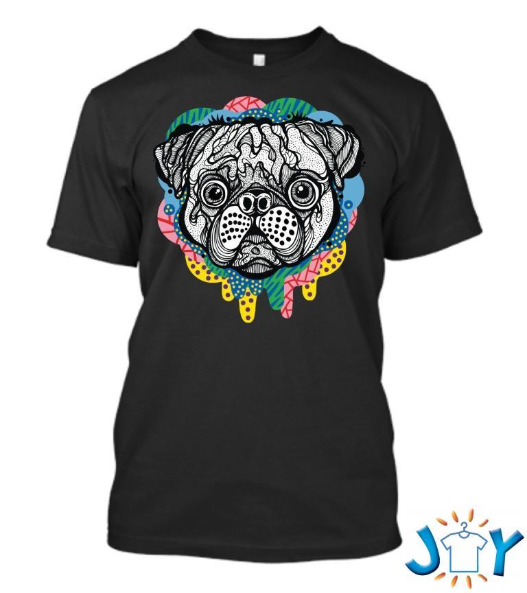 Pug Face T Shirt