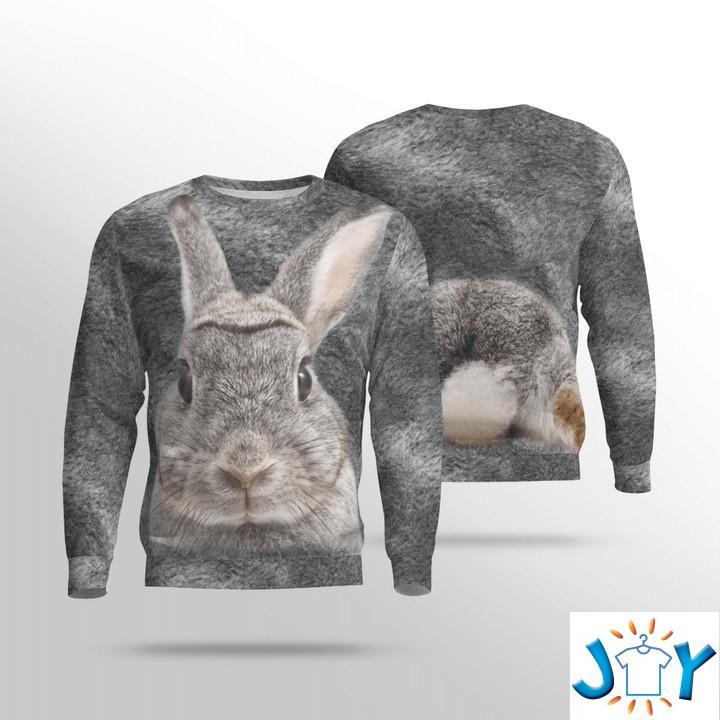 Rabbit 3D Sweatshirt