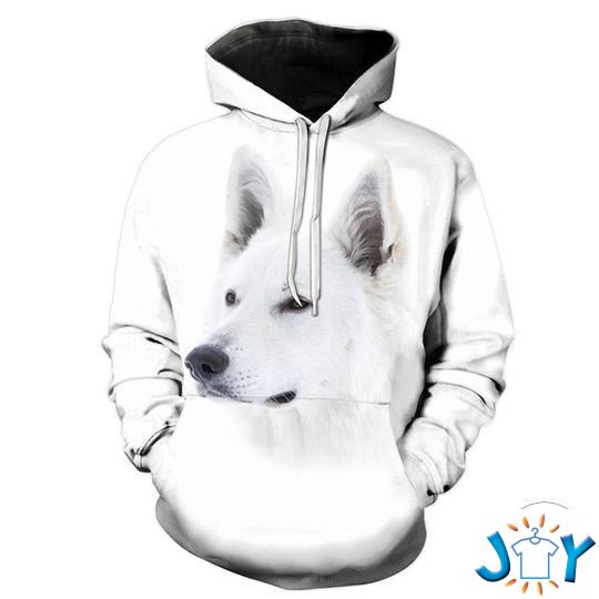 Samoyed 3D All Over Print Hoodie