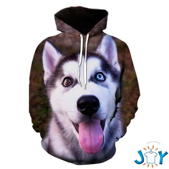 Siberian Husky 3D Hoodies