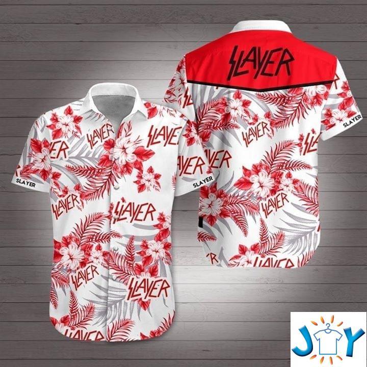 Slayer Flower Hawaiian 3D Shirt