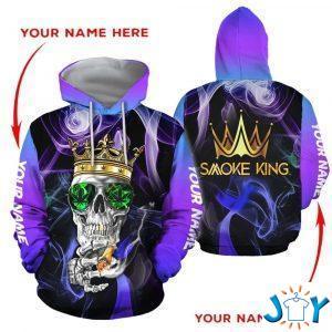 smoke king weed d hoodie