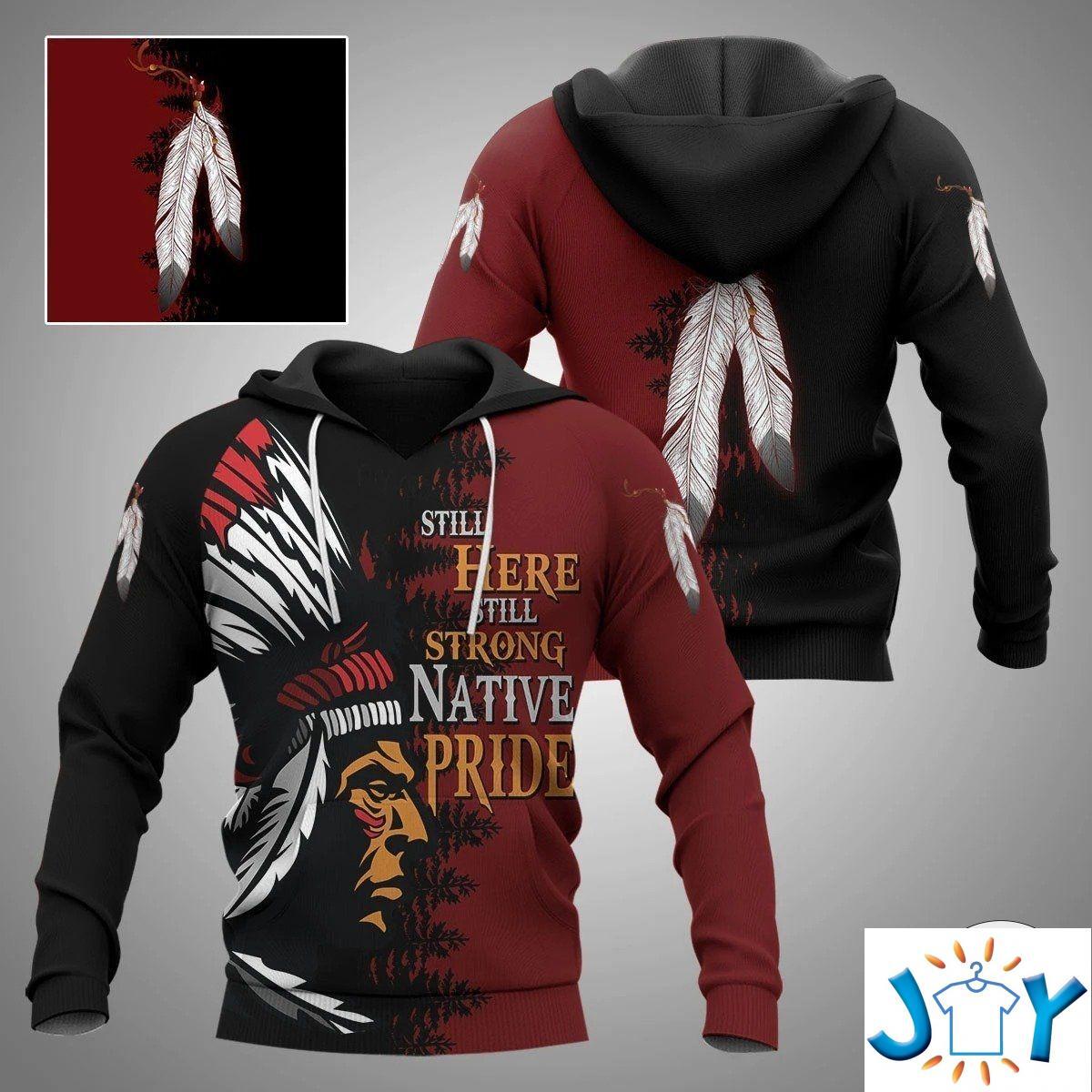 Still Here Still Strong Native Pride 3D Hoodies