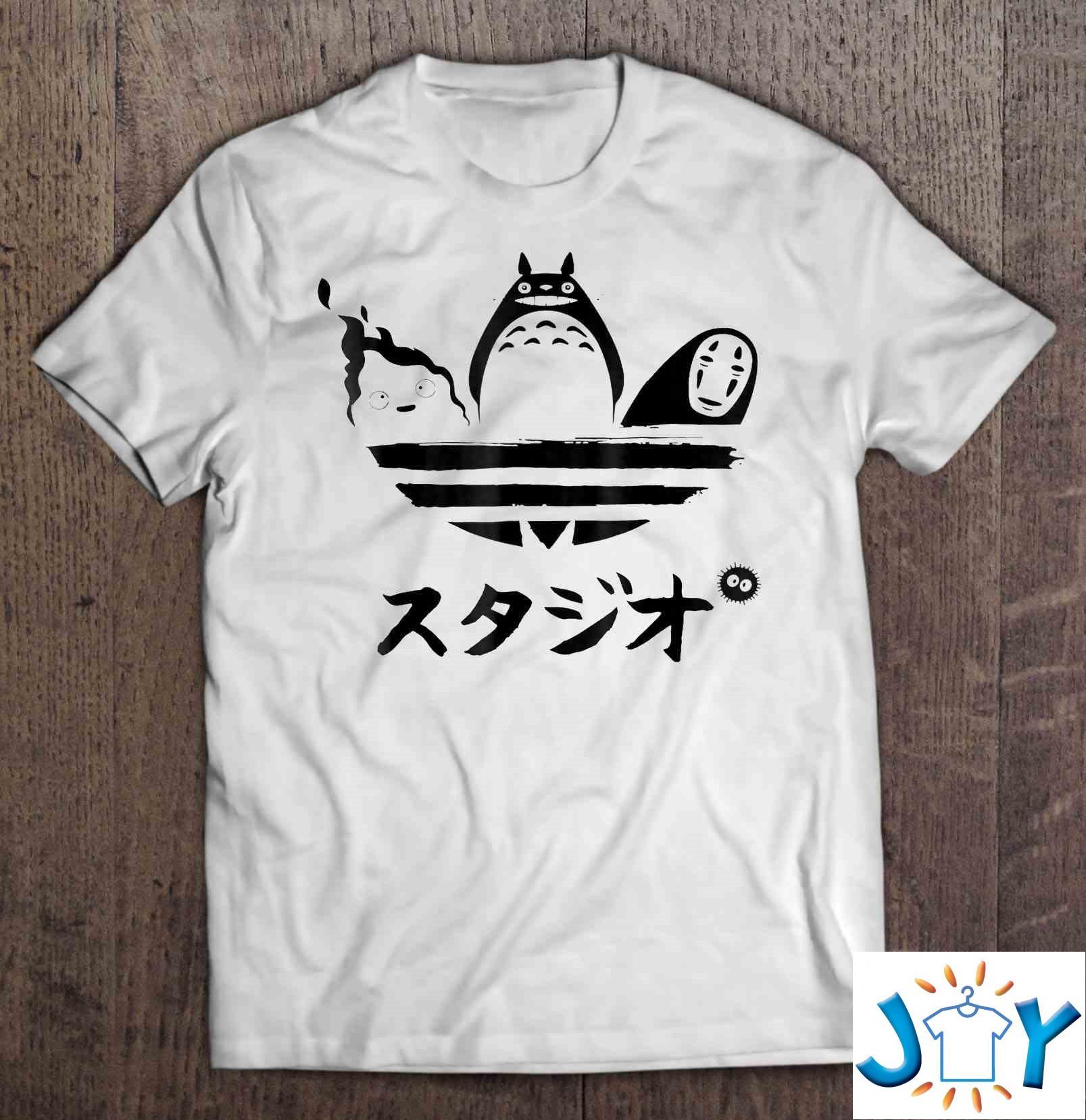 Studio Ghibli Adidas Classic T-Shirt