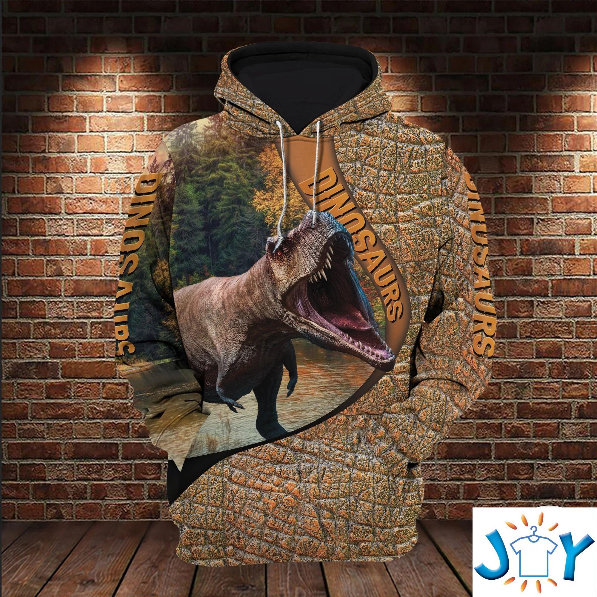T-Rex Dinosaurs 3D All Over Print Hoodies