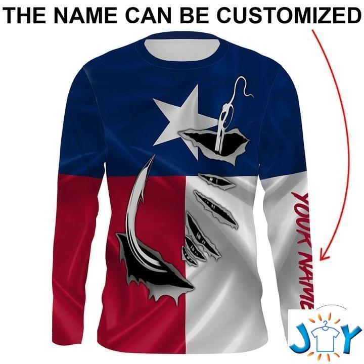 Texas Fishing Hook 3D Sweatshirt