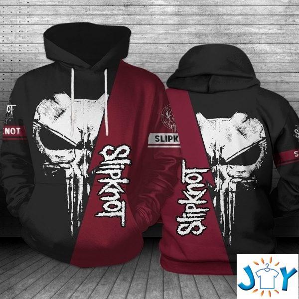 The Punisher Skull Slipknot 3D Hoodie