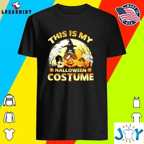 This Is My Halloween Costume Boxer Dog Lover Halloween T-Shirt