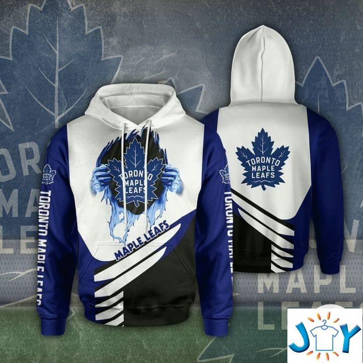 Toronto Maple Leafs 3D Hoodie
