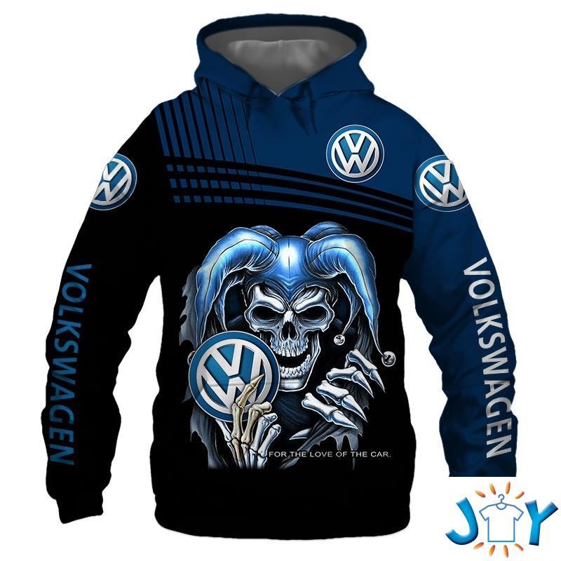 Volkswagen Skull 3D All Over Print Hoodie