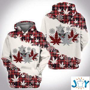 weed christmas d hoodie