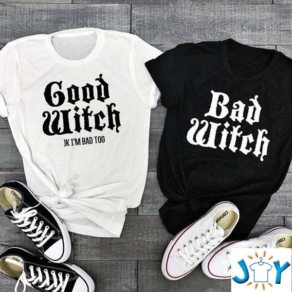 Witch Friend Funny Halloween Unisex T-Shirt