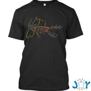 acoustic guitar player great guitarist or band gift t shirt