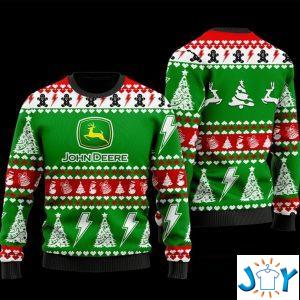 John Deere Ugly Christmas 3D Sweater